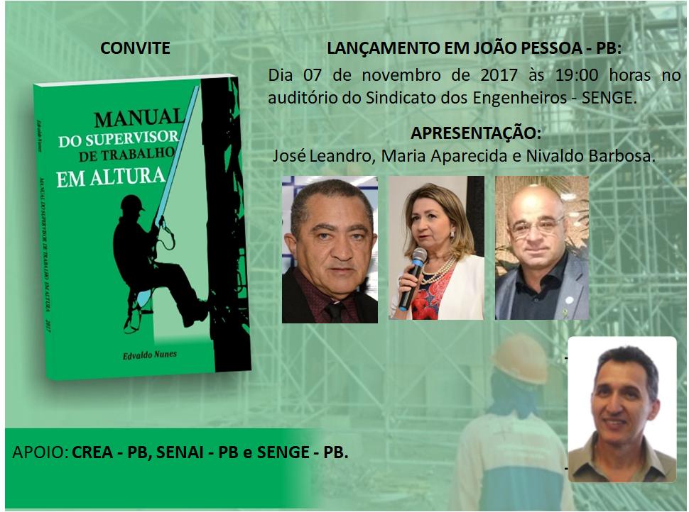 Lançamento em João Pessoa - PB