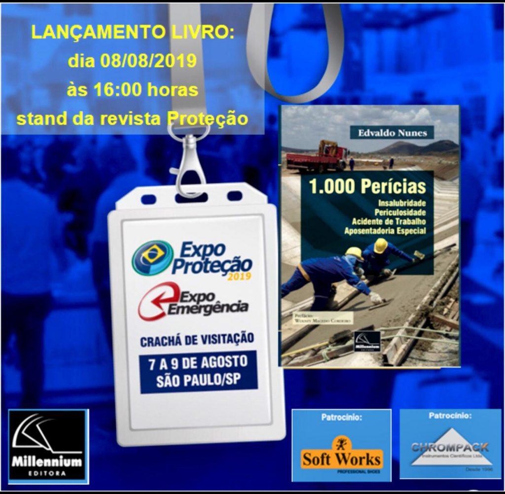Lançamento do livro 1000 Perícias em São Paulo