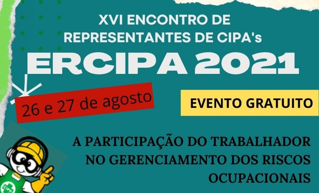 Abertas inscrições para o ERCIPA 2021 que acontece nesta semana